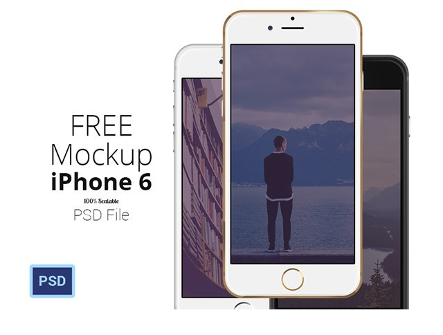 iPhone 6 - Scalable Mockups