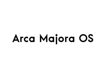 Arca Majora OS Typeface