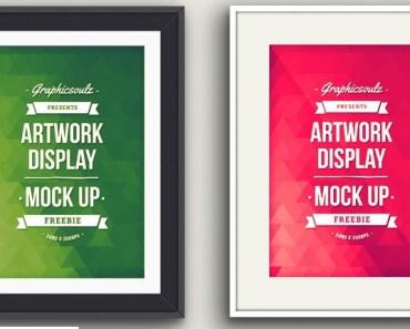 Artwork Display Mockup