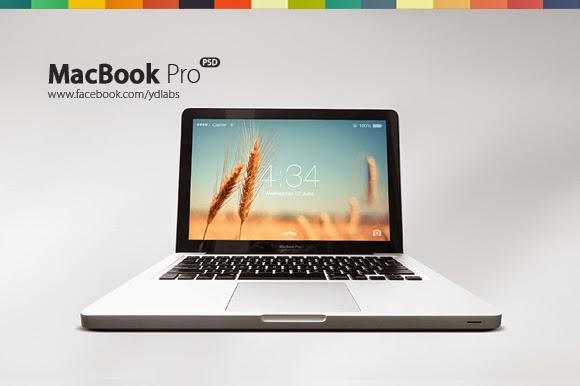 Free MacBook Pro (PSD)