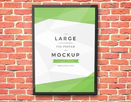 Artwork Frame PSD Mockup Vol.3