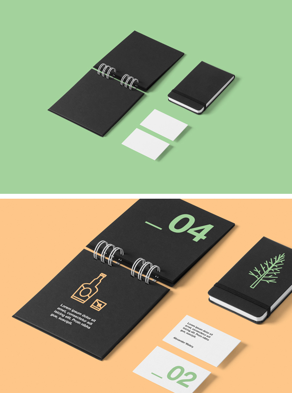Corporate Stationery PSD MockUp