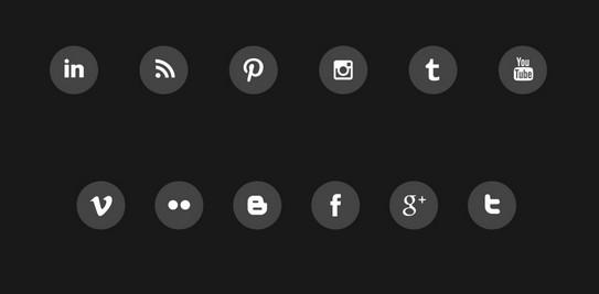 Free Social Media Animated Icons