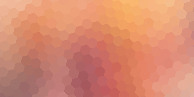 5 blurred hexagon backgrounds