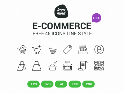 Free E Commerce Icons