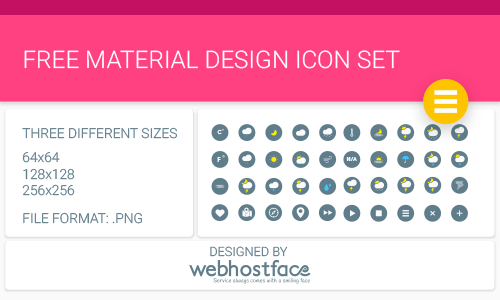 Material Design Icon Set