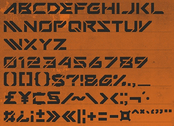 Mechsuit Typefont