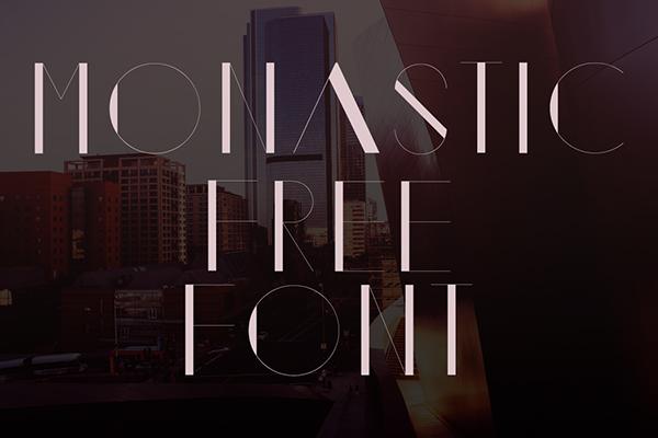 Monastic Free Font