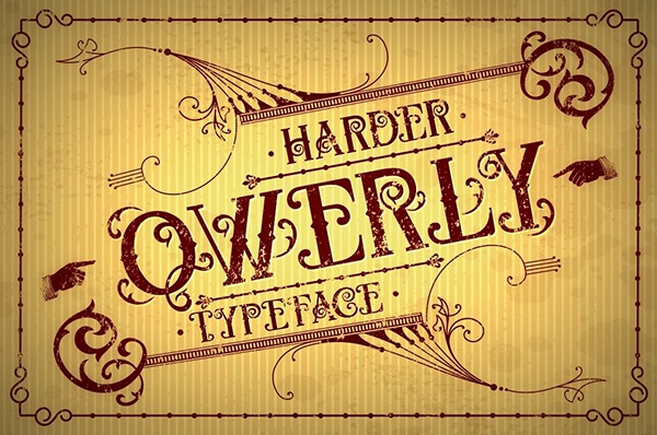 Qwerly Typeface