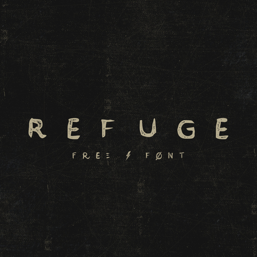 REFUGE (FREE FONT)