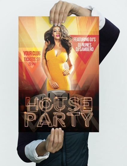 Free Flyer - House Party