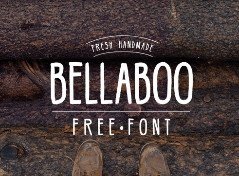 HIPSTER FREE FONT BELLABOO