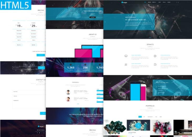 Kasper - One Page Creative HTML Theme