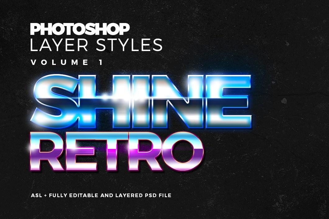 Photoshop Text Styles Set 1
