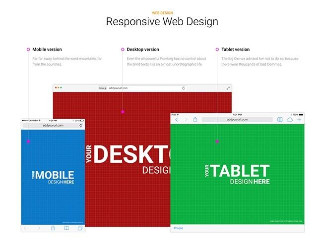 Responsive Browser Mockup