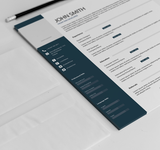 Simple Classic Resume Template