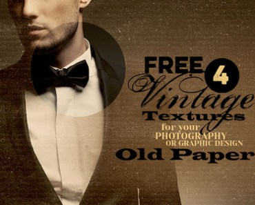 4 Free Vintage Textures - Old Paper