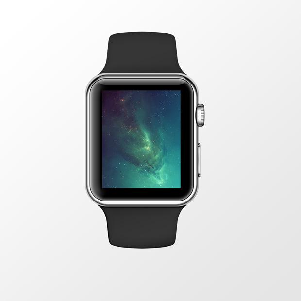 Apple Watch Sport PSD Mock-Up