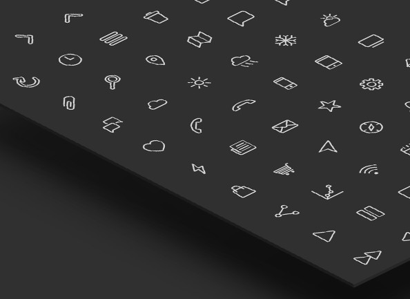 Free line icon pack