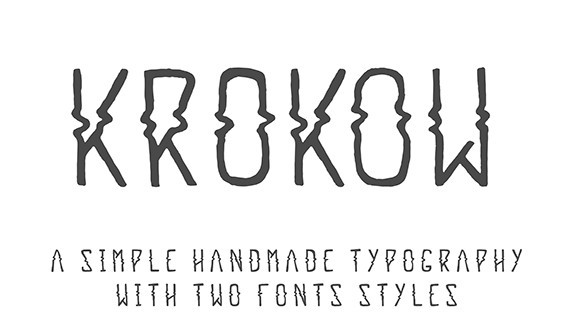 Krokow - Free Font