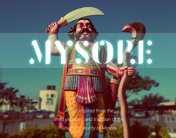 Mysore Font
