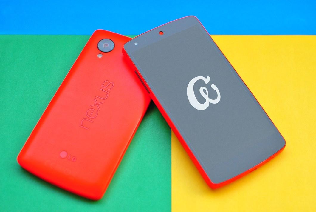 Vivid Nexus 5 Mockups