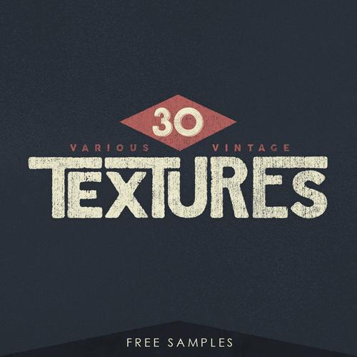 30 VARIOUS VINTAGE TEXTURES