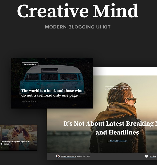 Creative Mind UI Kit