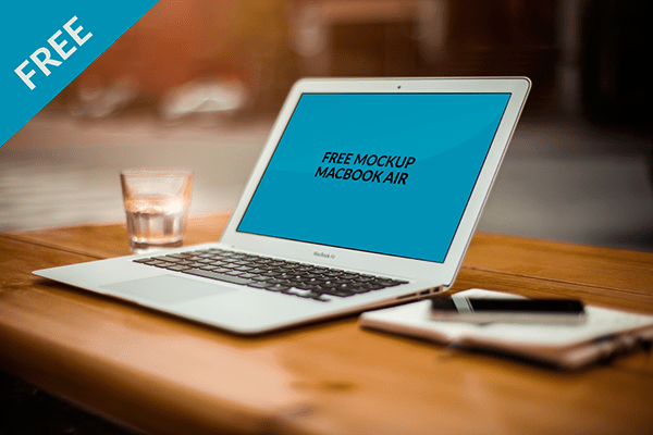 Free Mockup MacBook