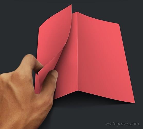 Free Z Fold Brochure Mockup