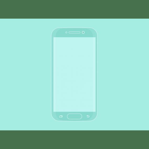 Samsung Galaxy S6 Flat Mockup
