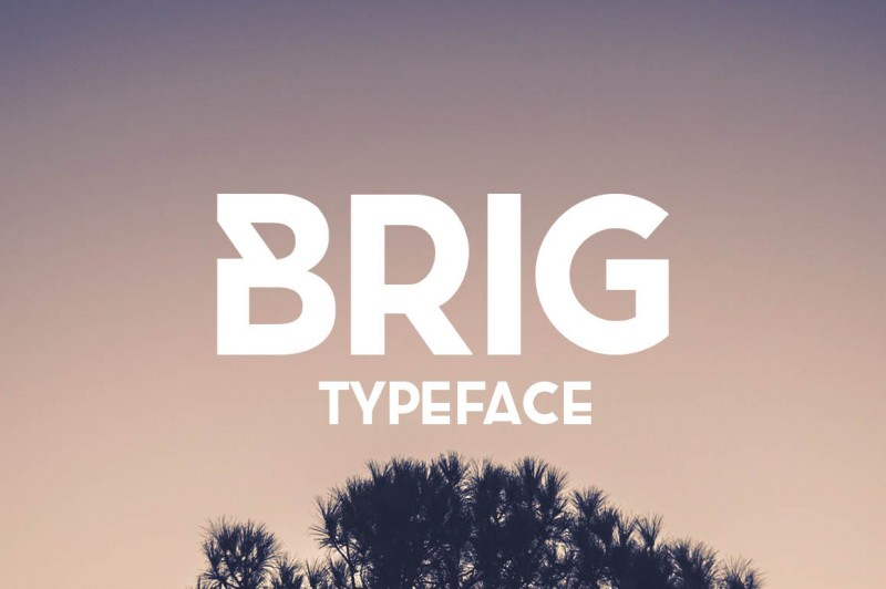 Free Brig Typeface