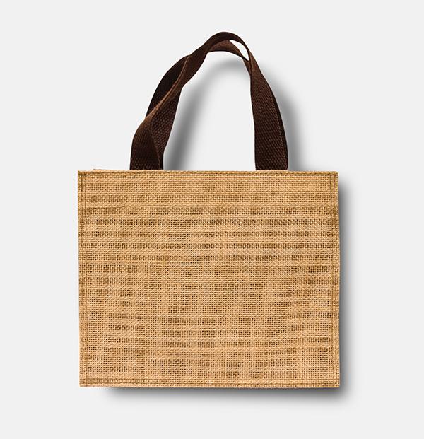 Free Eco Sack Bag Mock-Up
