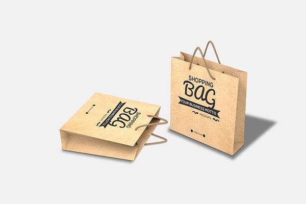 Freebie Shopping Bag Mockup