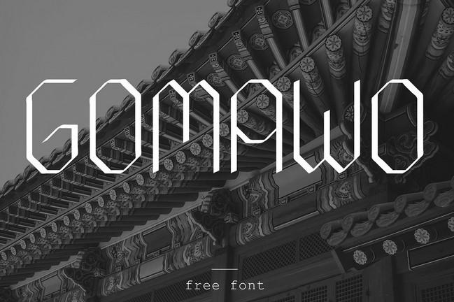 Gomawo Font