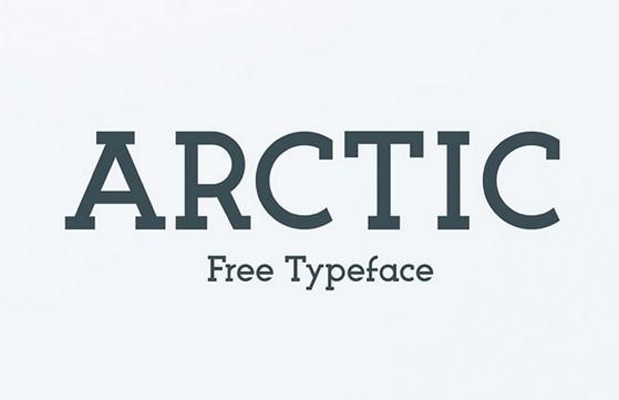 ARCTIC Free Typeface