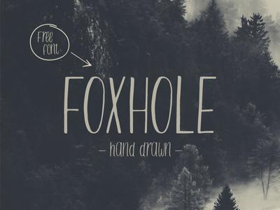Foxhole Typeface