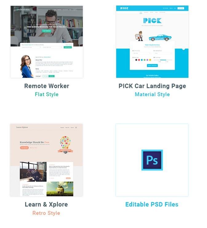 Landing Page Bundle