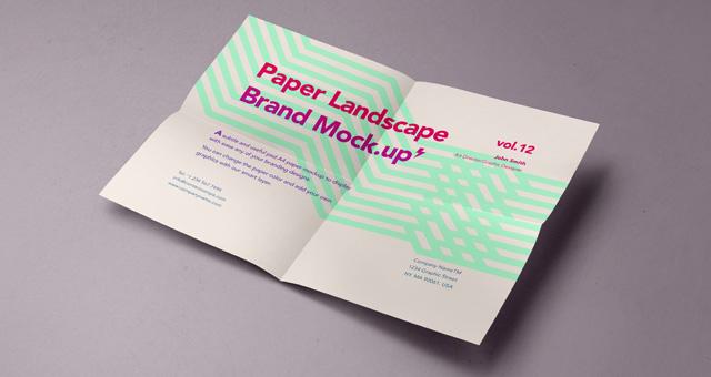Psd A4 Paper Mock-Up Vol12