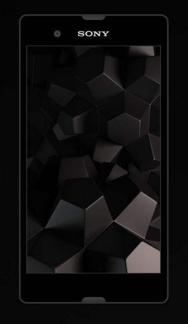 Xperia Z flat mockup psd free download