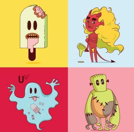 10 Cursed Halloween Vectors