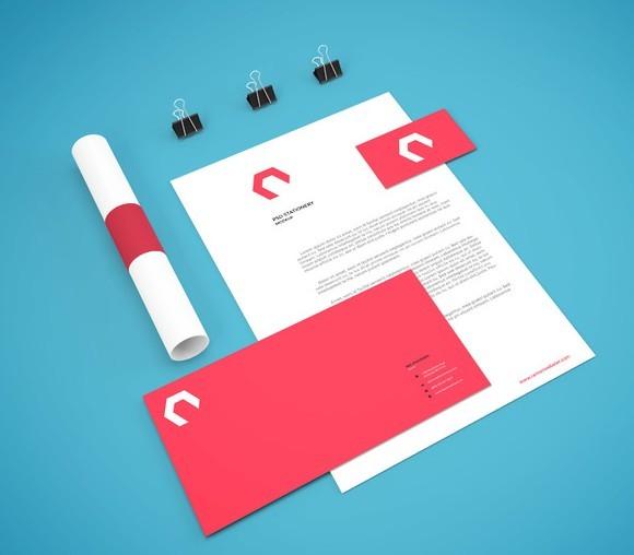Branding Stationery Mockup Vol7