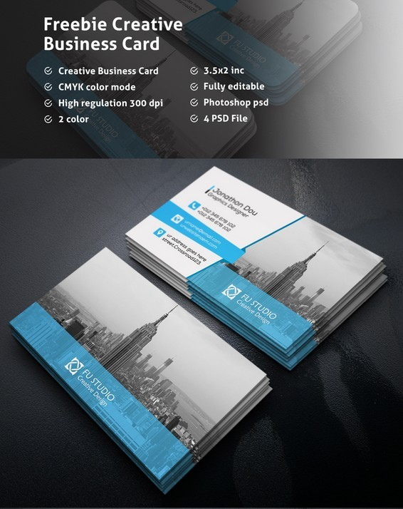 100 best business card mock ups for free download 2018 edition