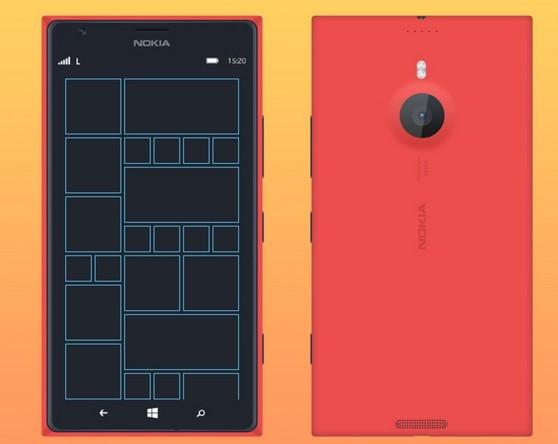 Nokia Lumia 1520 Mockup