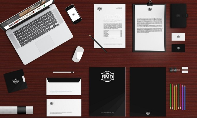 OFFICE BRANDING - STATIONERY MOCKUP