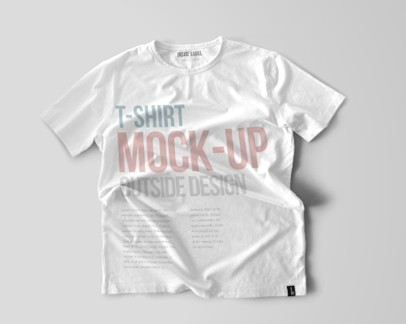 T-Shirt Mockup (Psd)