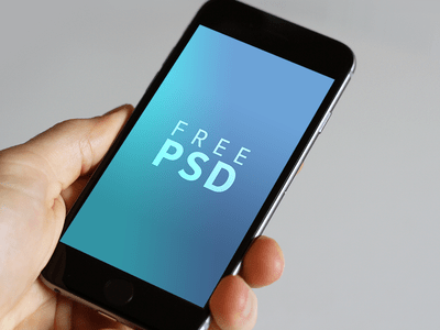iPhone 6 6s free PSD download