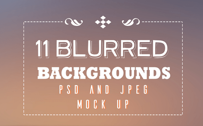 11 FREE Blurred Backgrounds