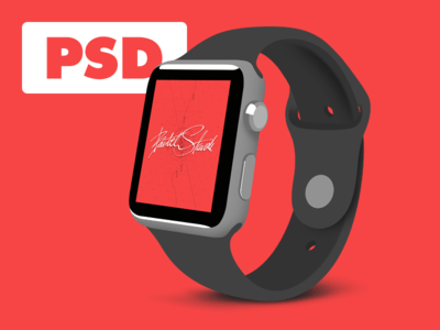 Flat Apple Watch Sport