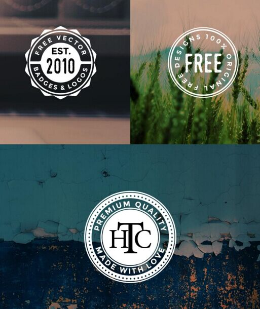 Free Circular Logos And Badges